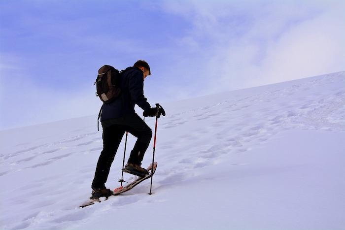 quels équipements randonnée en raquette à la montagne choix vetements accessoires