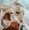 soutien gorge sans armature avec de jolies dentelles blanches à associer à tenue de tous les jours e1622722635718