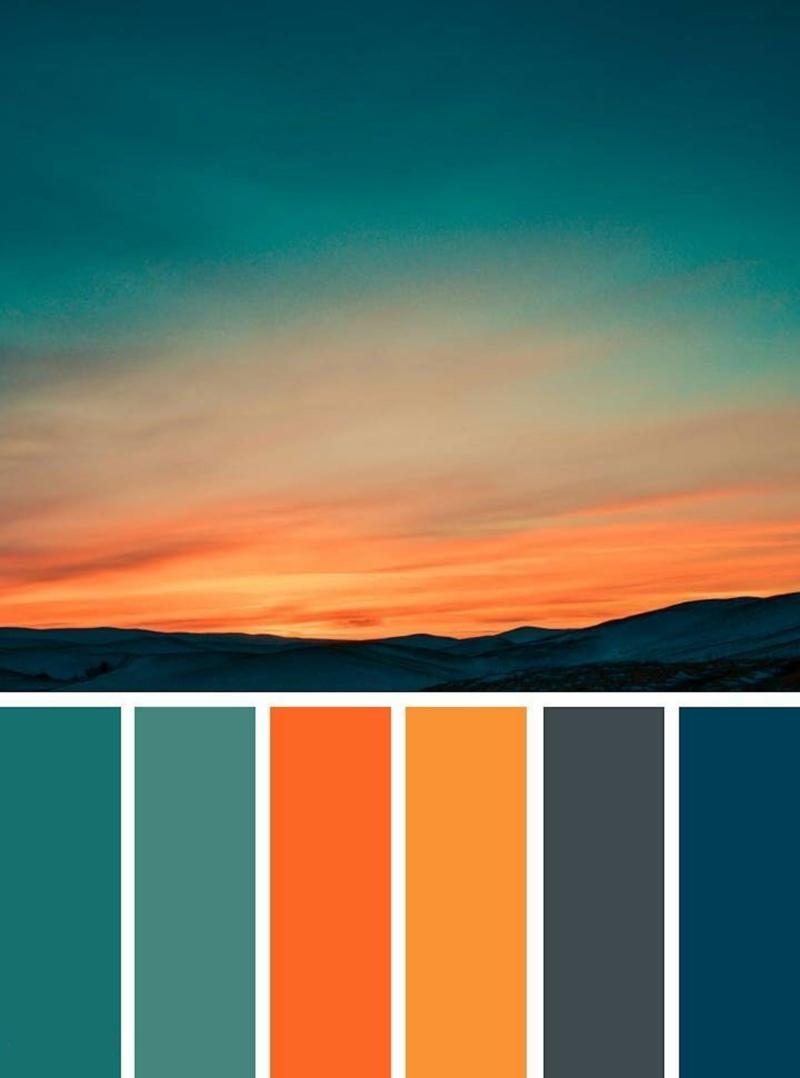 aménagement piscine combiner bien les couleurs chaudes