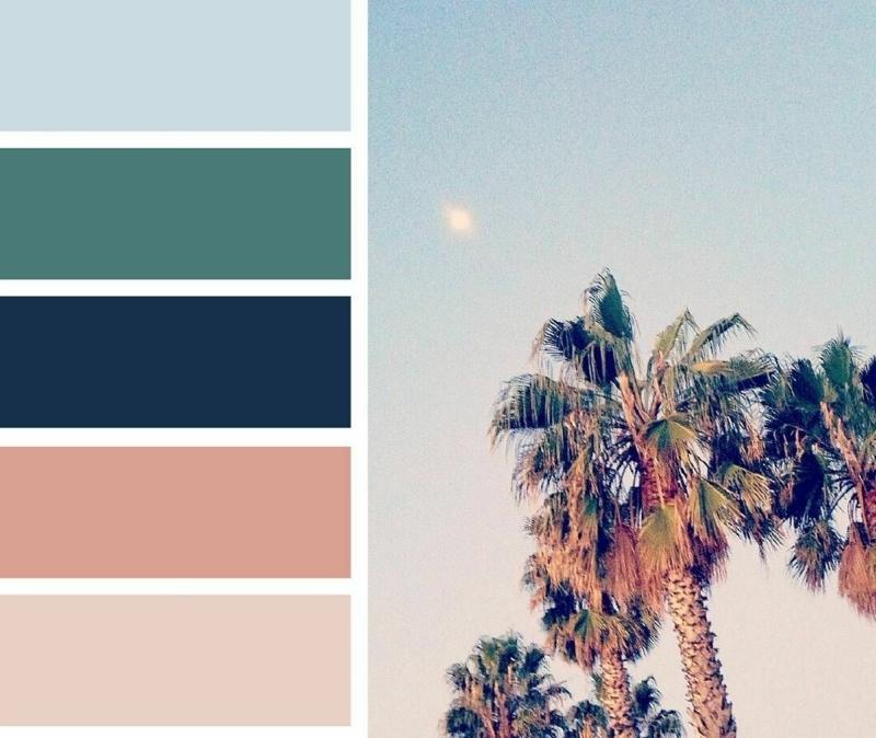 aménagement piscine combiner bien les couleurs estivales