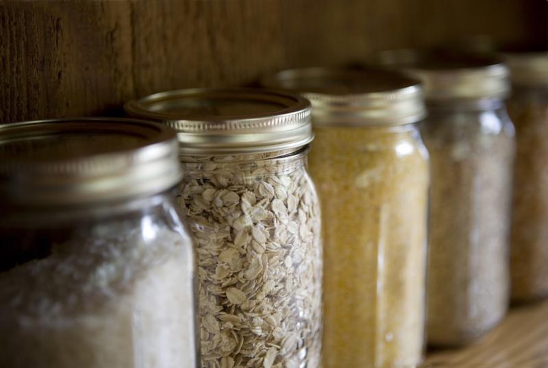 anti mite alimenatire placer les provisions dans des bocaux