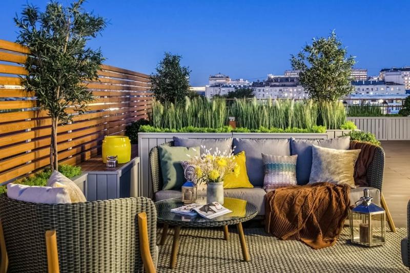 brise vue pour balcon une palissade de bois pour votre terrasse