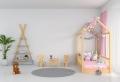 Choisir un lit cabane pour enfant afin d'aménager un chambre dans l'esprit Montessori