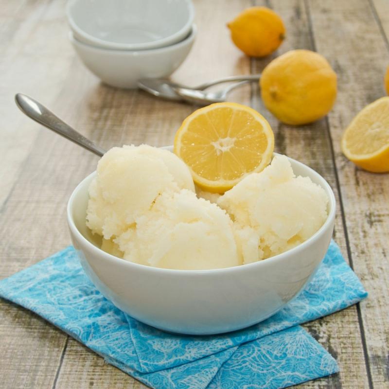 comment faire de la glace sorbet maison avec jus de citrons