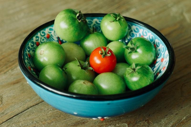 confiture tomates vertes citron recette facile préparation jar tomate cerise verte