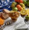 confiture tomates vertes orange ingrédients recette grand mere citron tranches pain