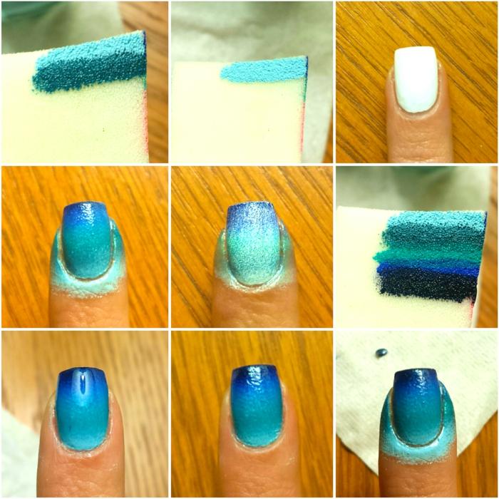 couleur ongle ete 2021 comment faire un degradé sur les ongles
