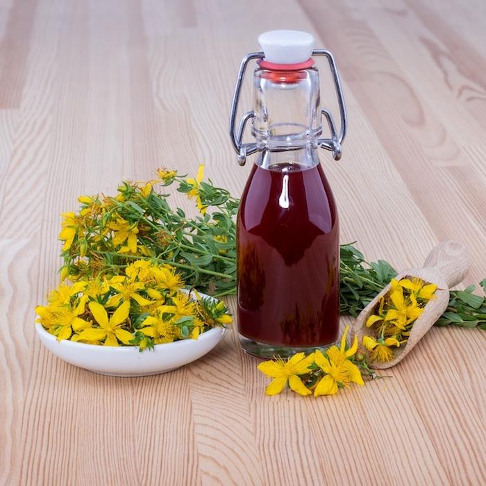 exemple anti stress naturel puissant millepertuis bienfaits effet contre depression fleurs jaunes