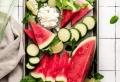Salade de pastèque et feta pour un été délicieux et frais !