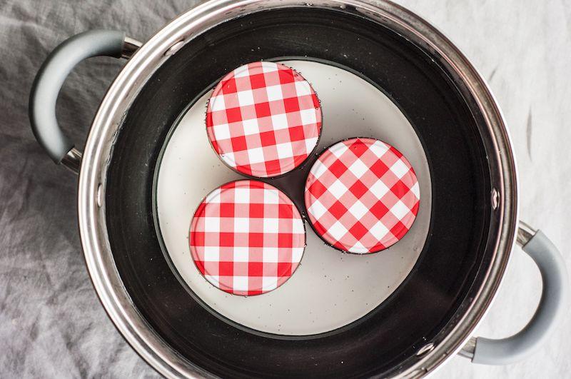 faire bouillir les pots en verre dans de l eau confiture figues noires simple