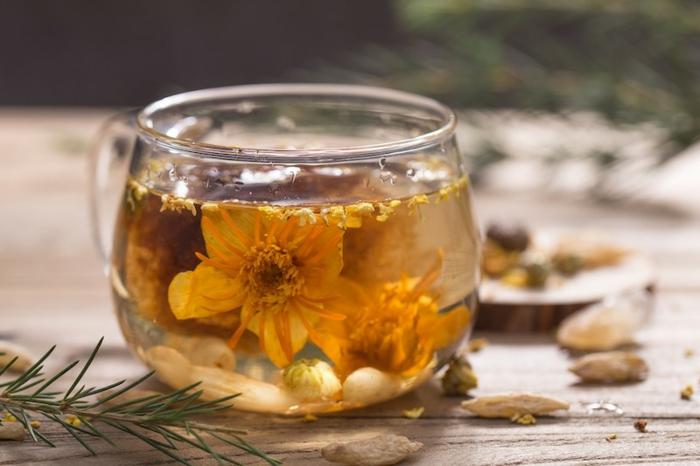fleur de jasmin thé au jasmin sambac
