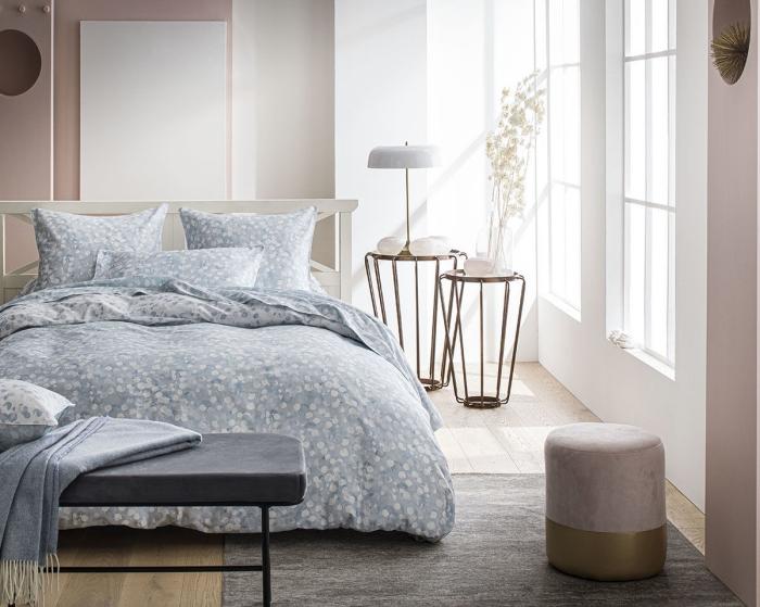 linge de lit anne de solene collection haute qualité produits confectionnés france déco chambre