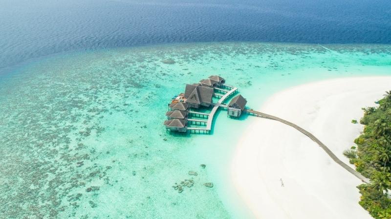 maldives les plus belles iles du monde maisonsur pilotis eau turquoise