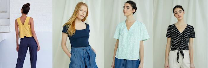 modeles de tee shirts femme tendance et de coton bio pour acheter vetements responsable