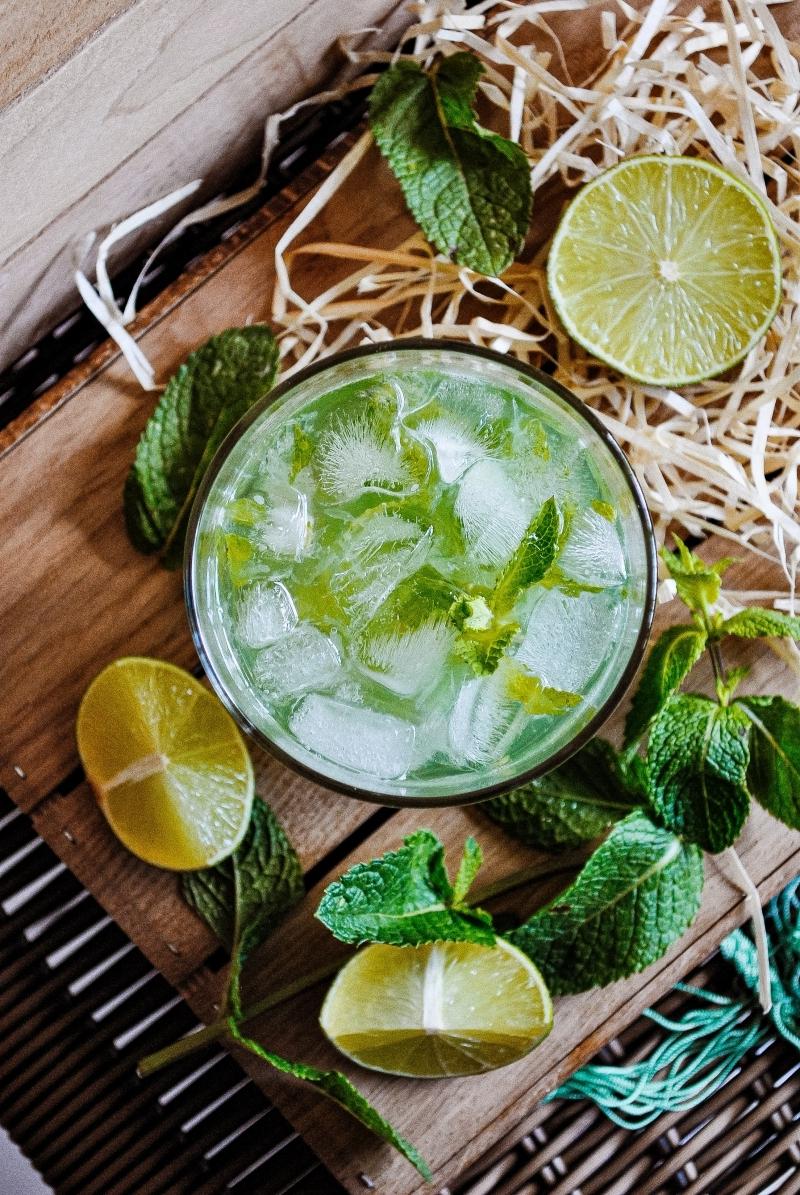 mojito ingredients préparation recette classique sans alcool citron jus