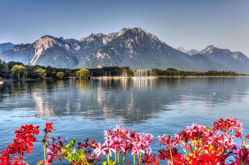 plus grand lac de france lac léman
