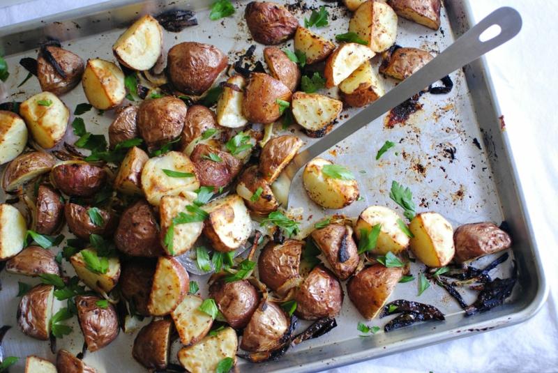 pommes de terre rissolées au four petites pommes de terre rôties
