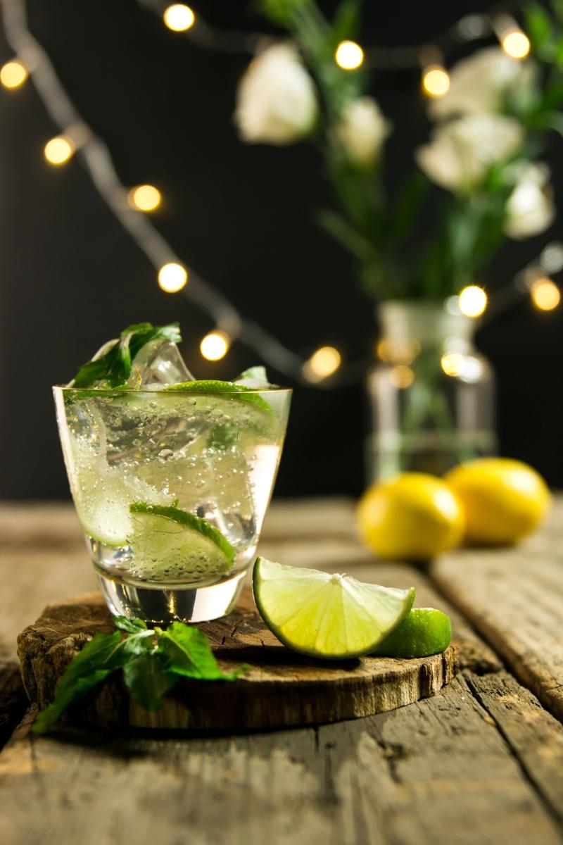 préparation cocktail maison sans alcool mojito ingredients citron vert