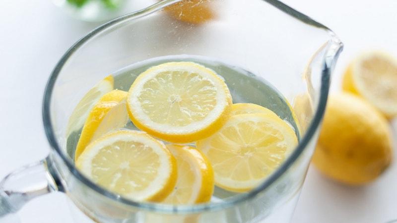rétention d eau dégonfler rapidement de l eau et du citron