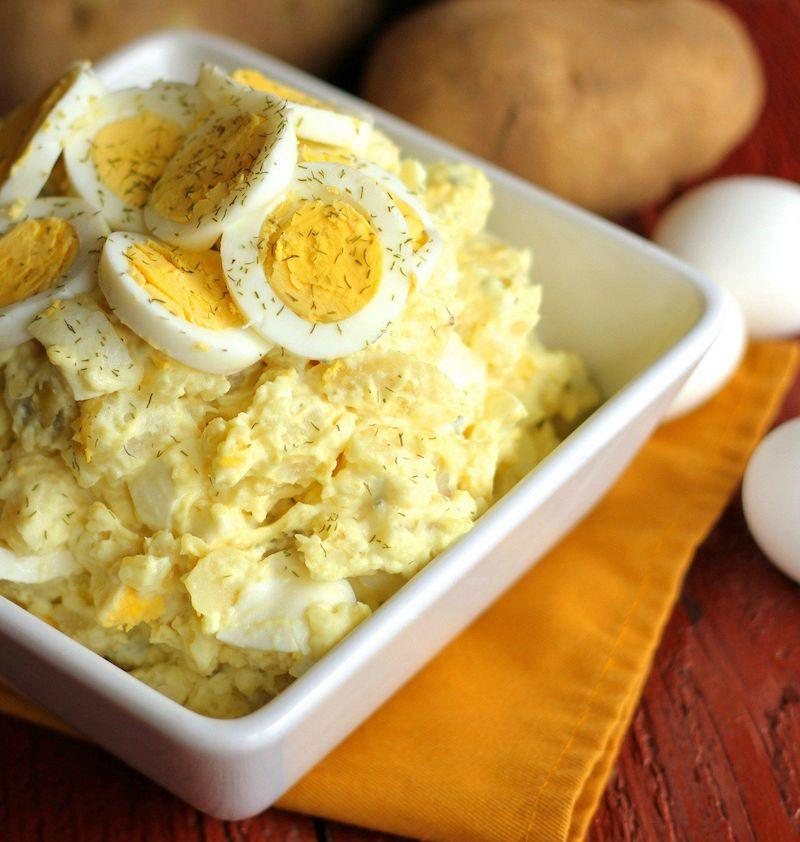 recette avec des oeufs et des pommes de terre