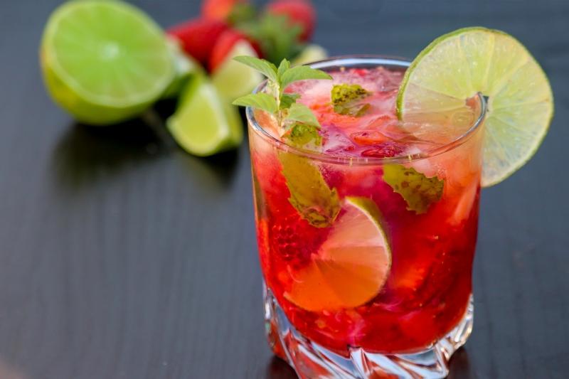 recette boisson été sans alcool cocktail mojito maison framboises citron vert