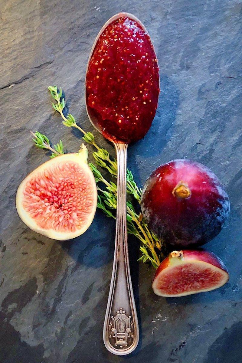 recette de saison confiture figues été automne exemple recette sucrée traditionnelle