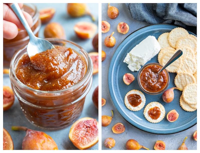 recette pour une confiture de figues sans sucre sucre de coco et miel
