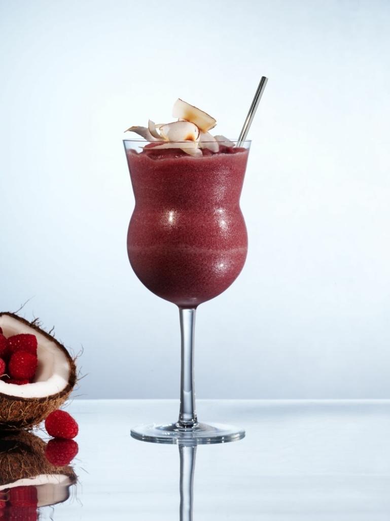 sorbet framboise une recette de sorbet framboise au lait de coco