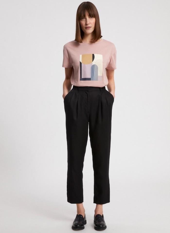 tee shirt patchwork exemple mode femme 2021 estivale quels vetements d été