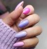 tendances ongles en gel longs couleurs vernis lavande nuances été manucure