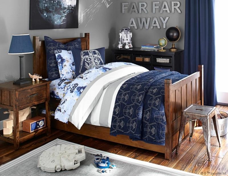 chambre gris et bleu décorer la chambre de votre garçon