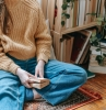 choix chauffage système équipement salon bohème tapis ethnique confort hiver