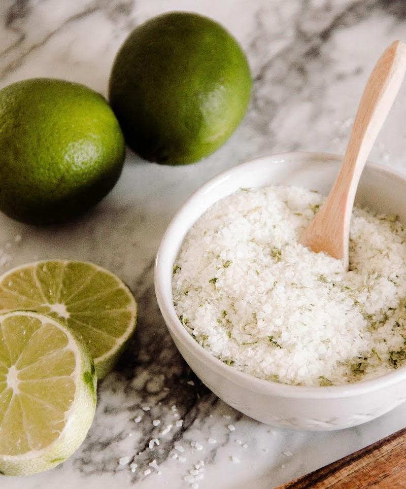 citron vert et sel pour enlever une tache de rouille recette maison de grand mere