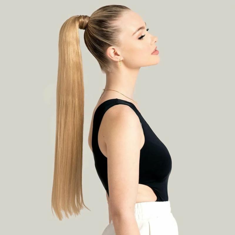 coiffure pour la rentrée ado queue de cheval enroulée