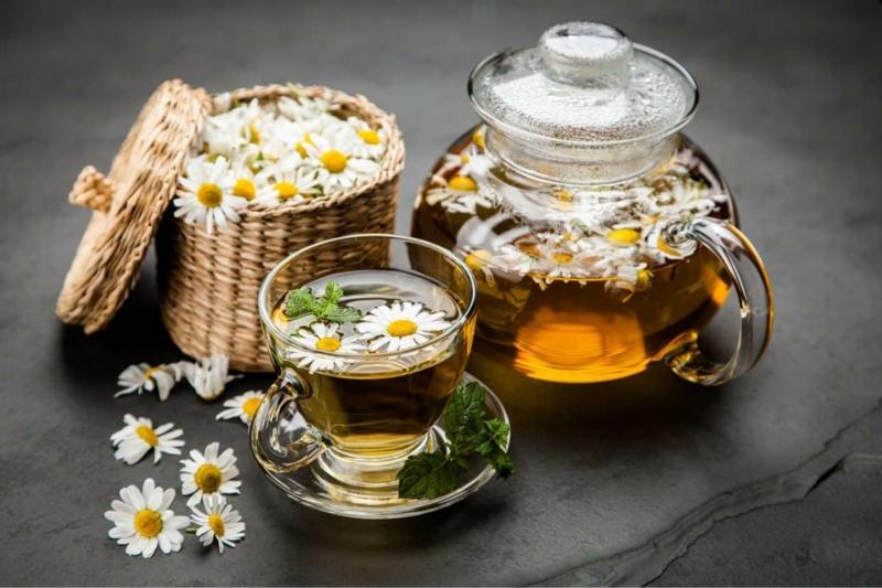 comment éviter les crampes nocturnes thé de camomille