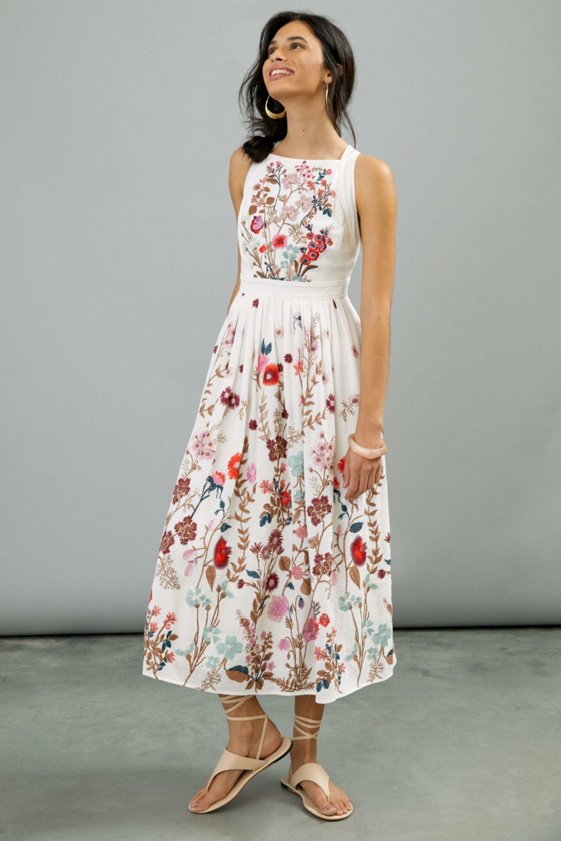 comment bien s habiller ado fille 12 ans robe imprimé fleurs