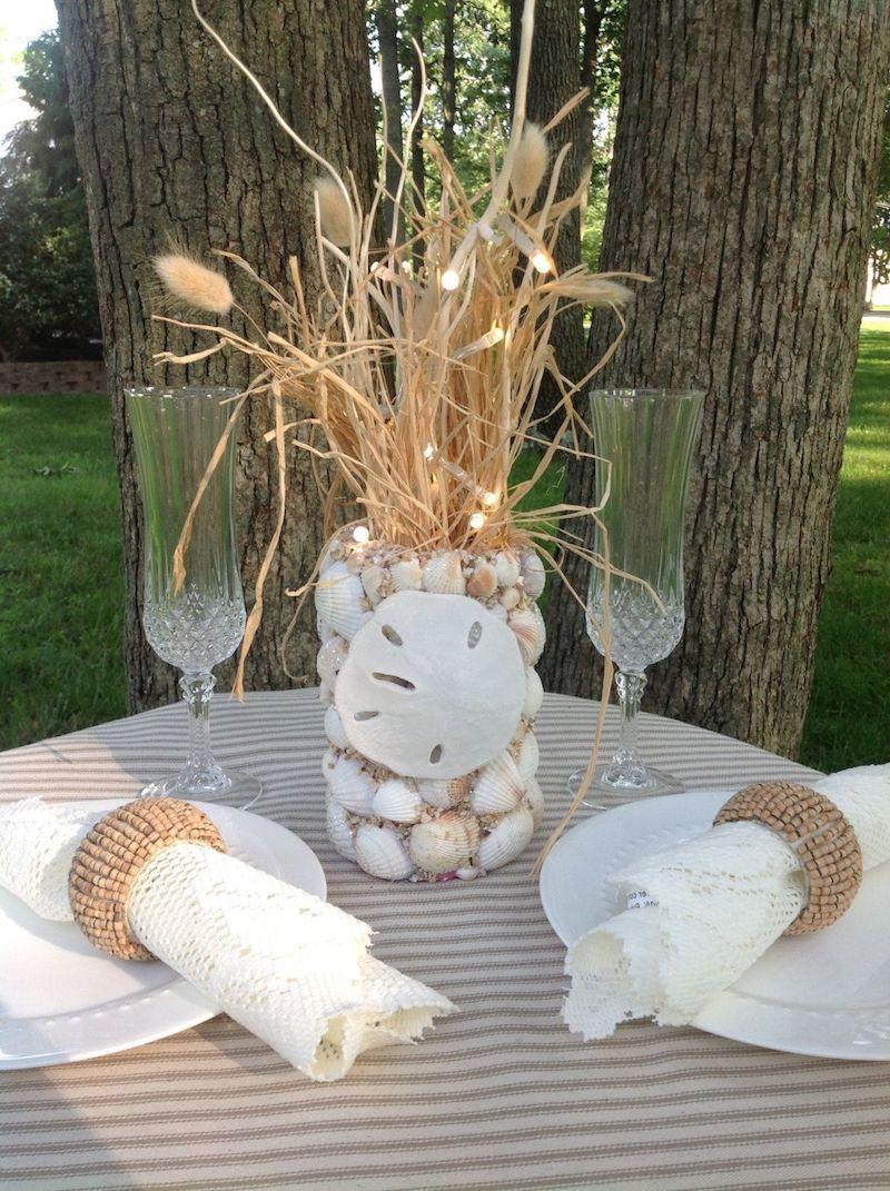 coquillage deco créer une atmosphère romantique dans le jardin