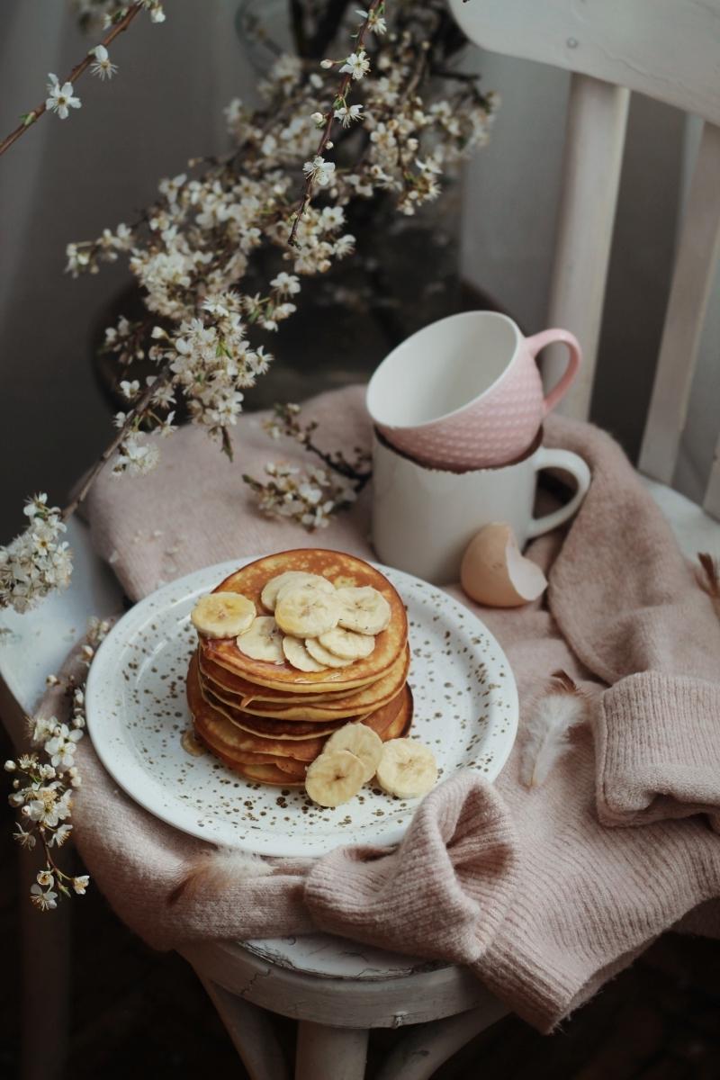 crêpe maison recette healthy dessert a base de banane miel