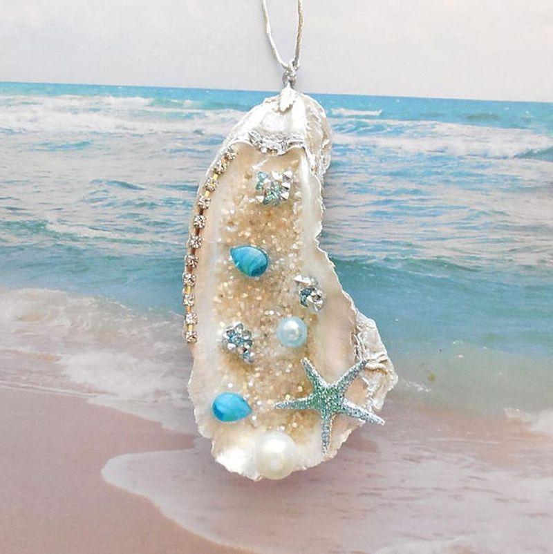création avec des coquillages faire un collier
