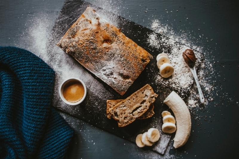 dessert banane rapide préparation pâte farine tout usage
