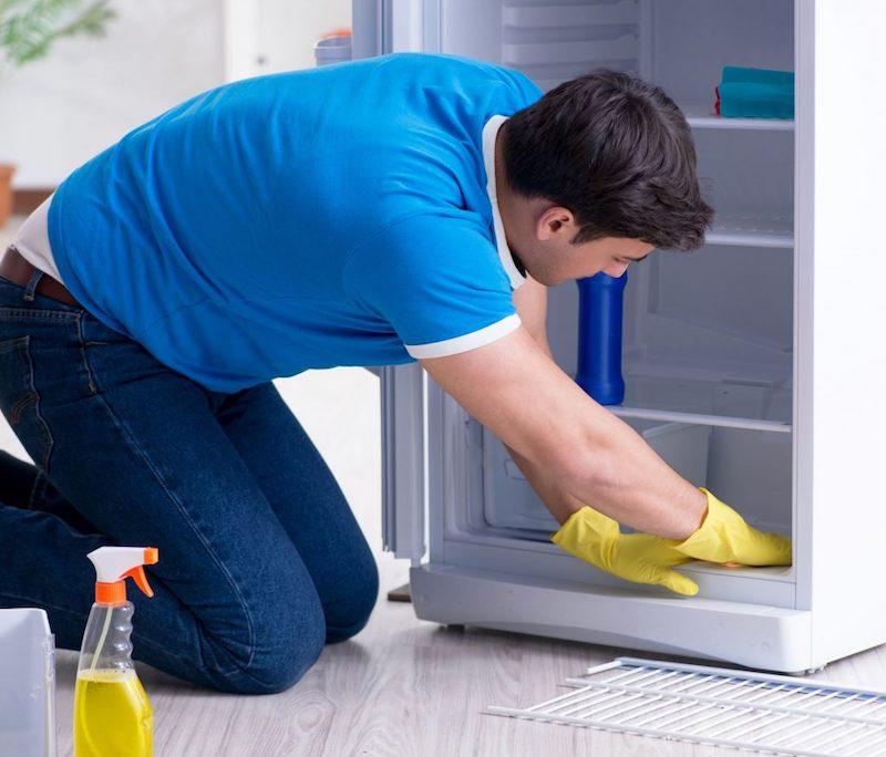 éviter les produits chimiques nettoyer réfrigérateur sans risque pour la santé