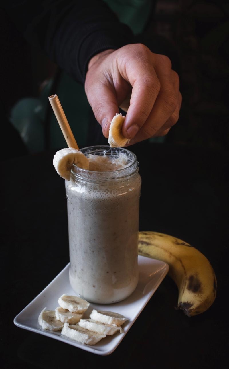 idée comment conserver les bananes pour faire smoothie fruits congelés
