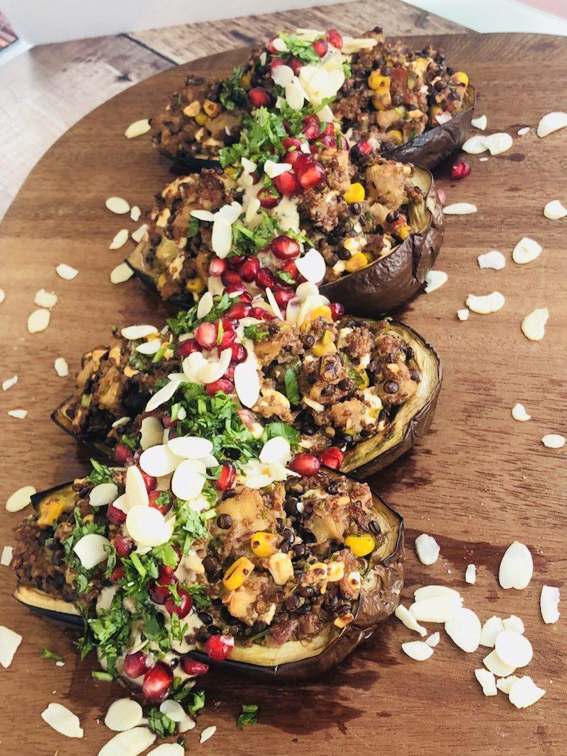 5 recettes d'aubergines farcies pour carnivores et végétariens