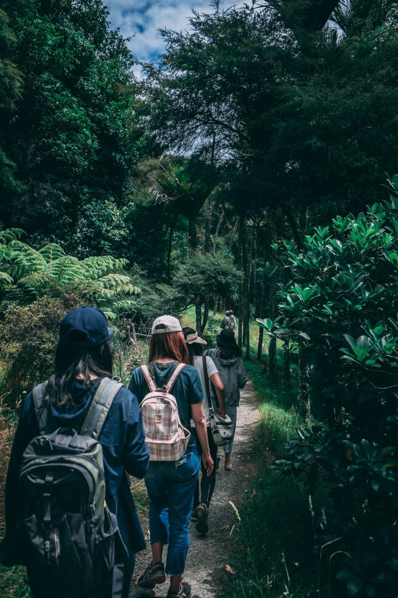 marcher pour maigrir une promenade dans la montagne
