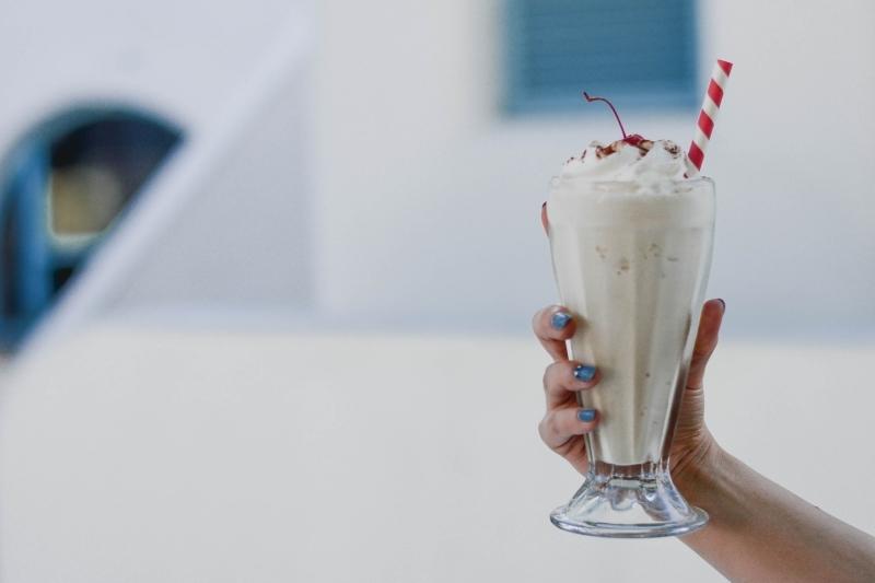 milkshake facile recette banane boisson froide lait végétal