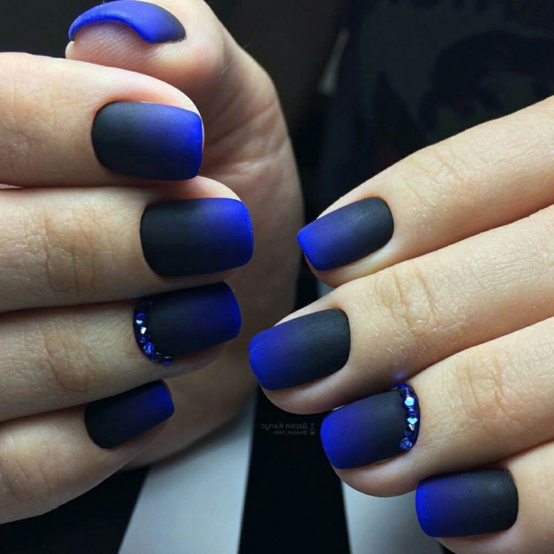 ongles en couleurs d'automne ongles style gradient