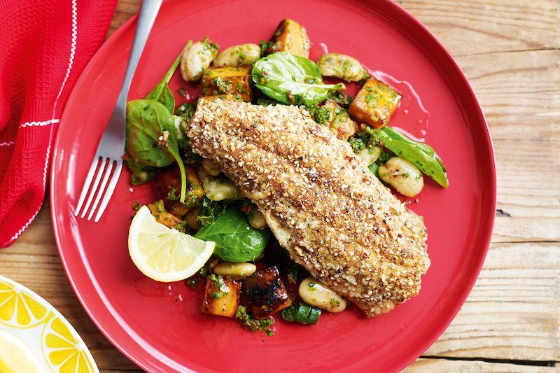 patate douce cuisson rapide en accompagnement pour repas à base de poisson