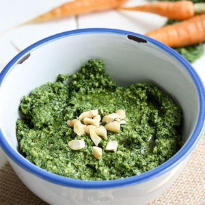 Pesto aux fanes de radis ou carottes ! Une astuce anti-gaspillage alimentaire