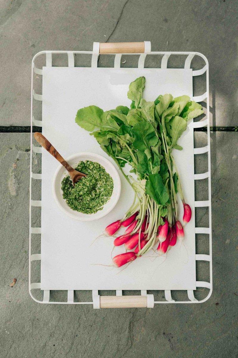 pesto fanes de radis lutter contre le gaspillage alimentaire recette perso maison