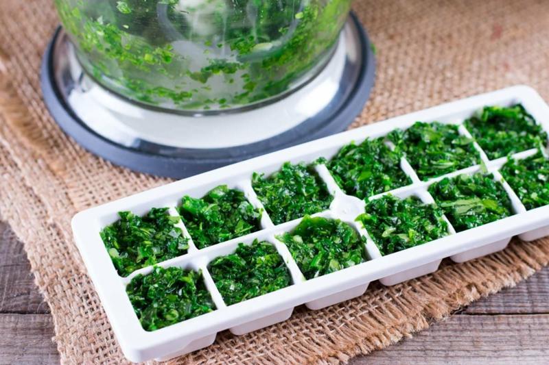 peut on congeler de la salade glaçons verts de laitue